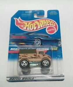 1991 Hotwheel (#-239) MERCEDES -BENZ UNIMOG , camo , white ...