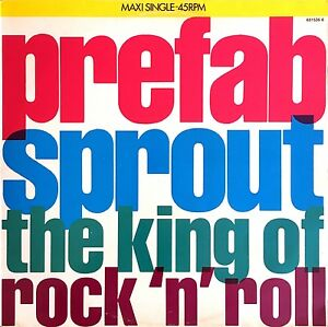 Prefab-Sprout-12-039-039-The-King-Of-Rock-039-N-039-Roll-Holland-VG-VG