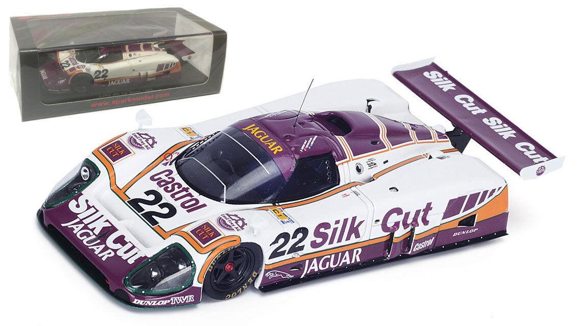Spark S4716 Jaguar XJR9 'de seda de corte' 4th Le Mans 1988-escala 1 43