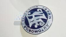 Japan Automobile Federation JDM front bumper grill JAF blue emblem badge toyota