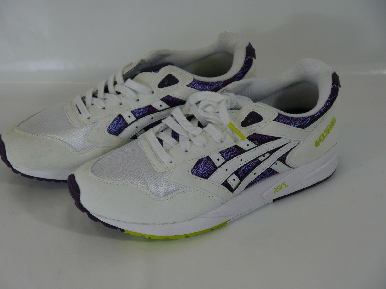 ASICS GEL SAGA MEN'S Weiß MEN'S SAGA WOMEN'S TRAINERS BNIB UK 7 EUR 40.5 US 9 4fd18d