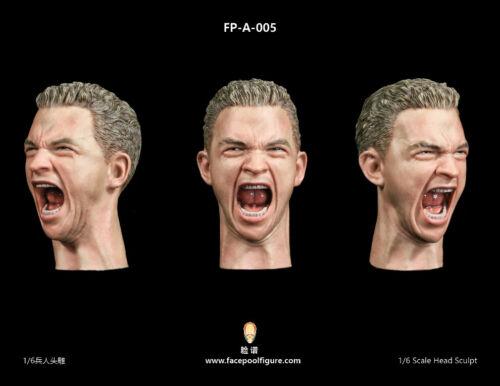 FP-A-005 FacepoolFigure 1//6 Male Head Sculpt