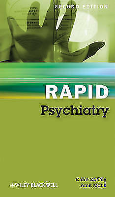 """1 of 1 - """"VERY GOOD"""" Oakley, Clare, Rapid Psychiatry, 2nd Edition, Book"""