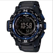 Casio Mens PRW-3500Y-1C Pro Trek Quartz Solar Atomic Digital Display Black Watch