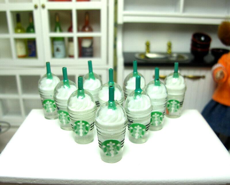 10x white ice cream cup 3cm H