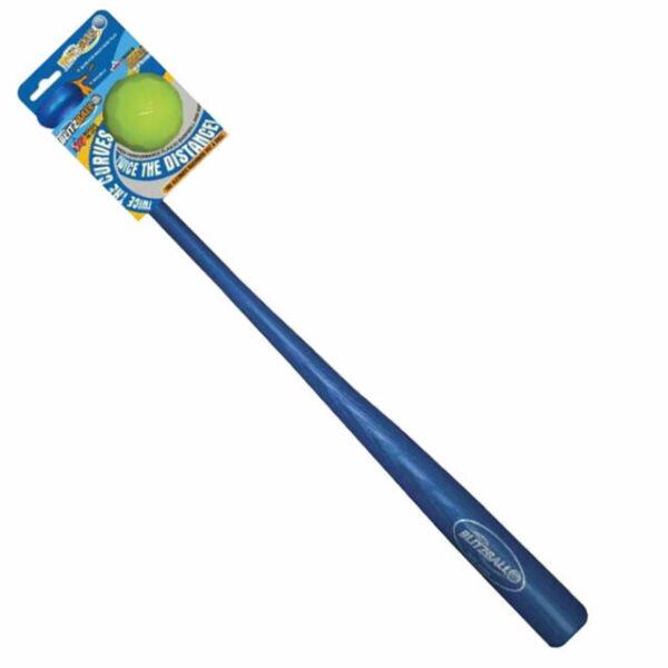 Blitzball Gamemaster Backyard Plastic Baseball Bat & Ball