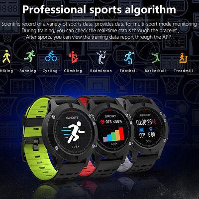 NO.1 F5 Heart Rate Sleep Monitor Smart Watch GPS IP67Waterproof Sport Wristwatch