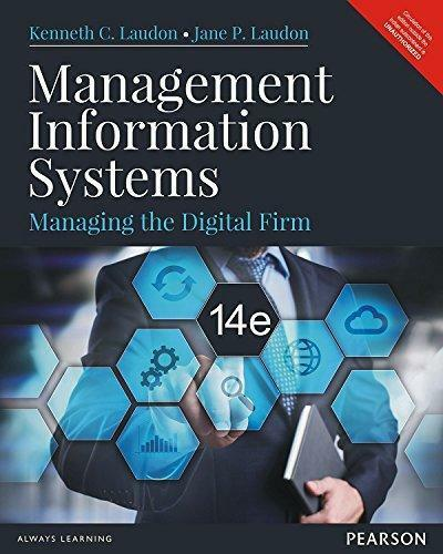 Management information systems managing the digital firm by ken management information systems managing the digital firm by ken laudon and jane p laudon 2015 hardcover ebay fandeluxe Images