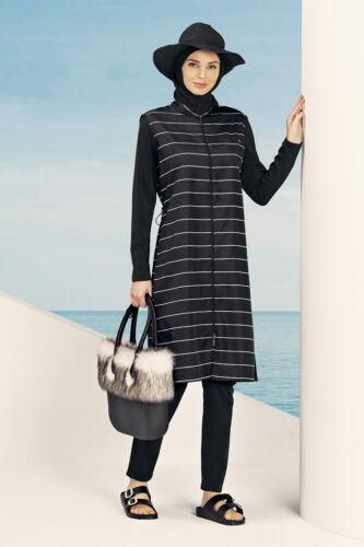 N-608 nehar by hasema burkini tesettürmayo hijab costumi da bagno swimwear costume da bagno