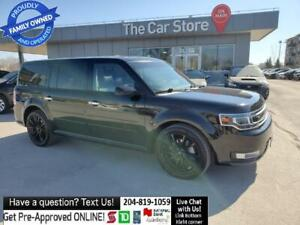 2018 Ford Flex Limited AWD Navi DUAL ROOF Leather 3 rows NO ACCID