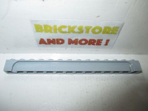 Brick modified 1x14 groove 4217 gray//gris//grau Choose Quantity x1 x2 Lego