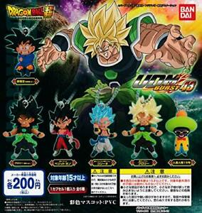 BANDAI Dragon Ball super UDM burst 43 all 6set mascot capsule Figures Complete