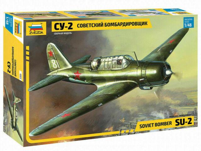 1:48 Zvezda #4805 Sukhoi Su-2 Soviet Bomber USSR UdSSR