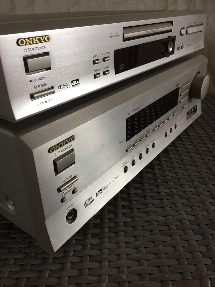 Forstærker, Onkyo, AV Receiver TX-SR501E