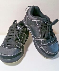 New-Baby-Boy-OP-NATHAN-Black-Skateboarding-Shoes-Size-10-US