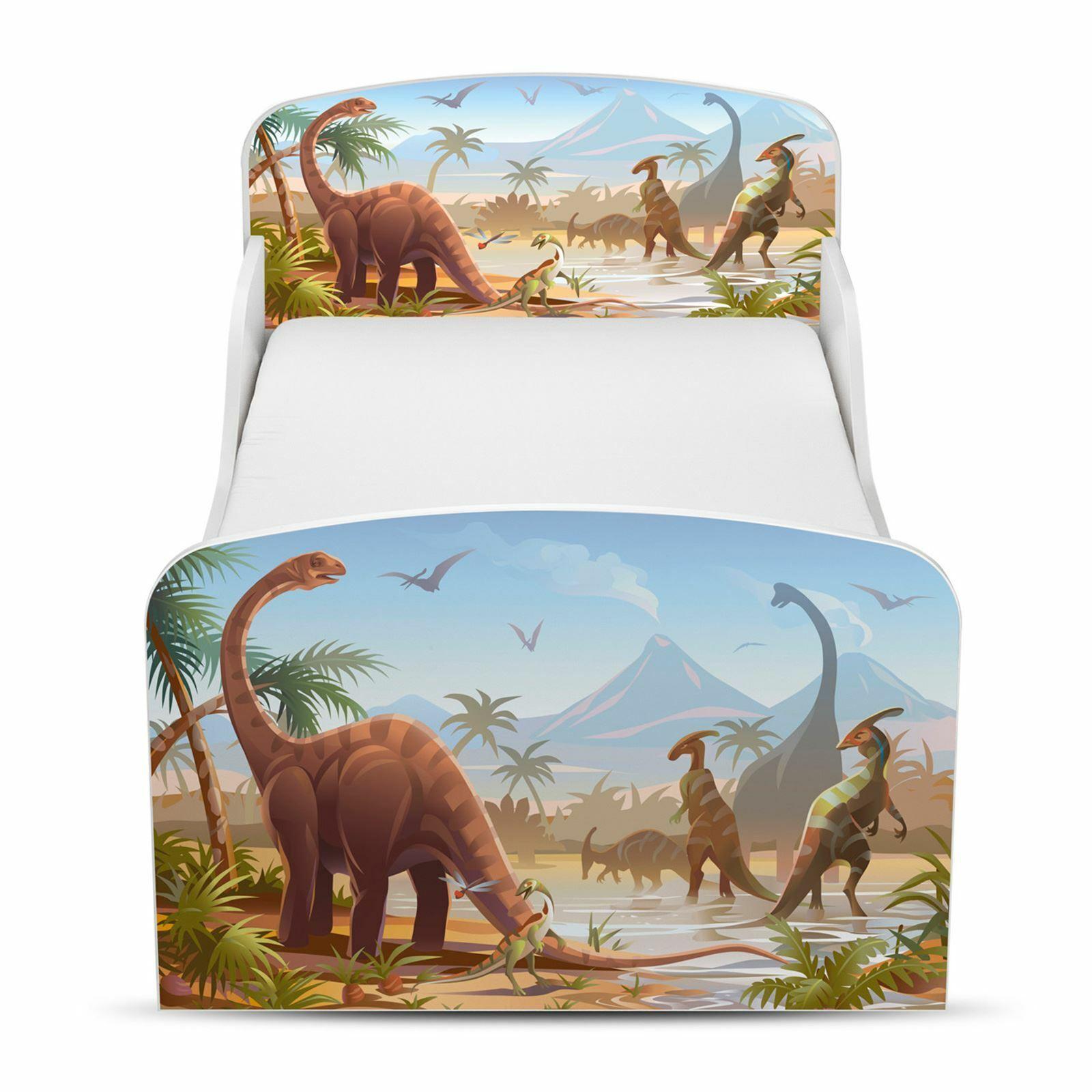 Jurassique Dinosaures Bébé Lit prix droit maison lit Enfant Gratuit P + P