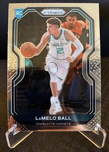2020-21 Panini Prizm #278 Lamelo Ball Hornets Base RC Rookie Card Pack Fresh!