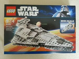 Lego-Star-Wars-8099-Midi-Scale-Imperial-Star-Destroyer-Brand-New-Unopened
