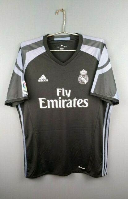 Real Madrid Jersey Large 2016 2017 Third Shirt AI5139 Football ...