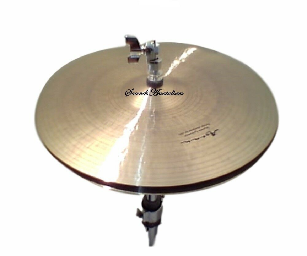Agean Cymbals 13-inch Special Jazz Hi-Hat  SJZ-HH13