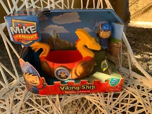 Fisher-Price-Mike-The-Knight-Bathtime-Adventure-Viking-Ship-NIB-2013-Tub-Toy