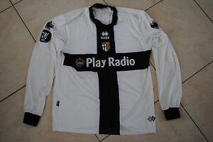 MAGLIA-INDOSSATA-MATCH-WORN-SHIRT-MAILLOT-PORTE-PARMA-AC-COPPA-EUROPA-UEFA-2006