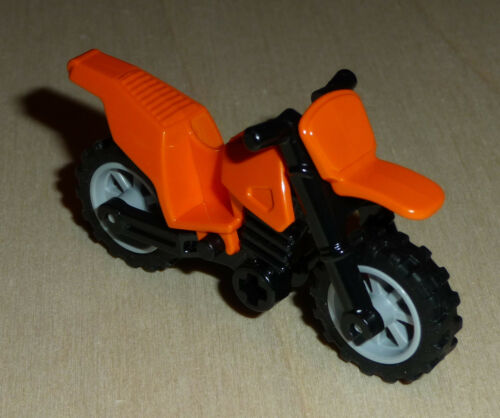 Dirt Bike Nr.5448 Lego 50860c02 City Motorrad orange