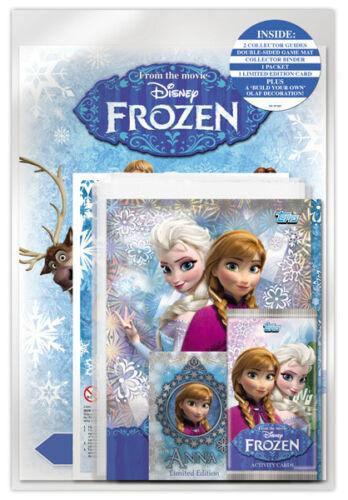 Frozen Activity Cards Starter Pack Topps