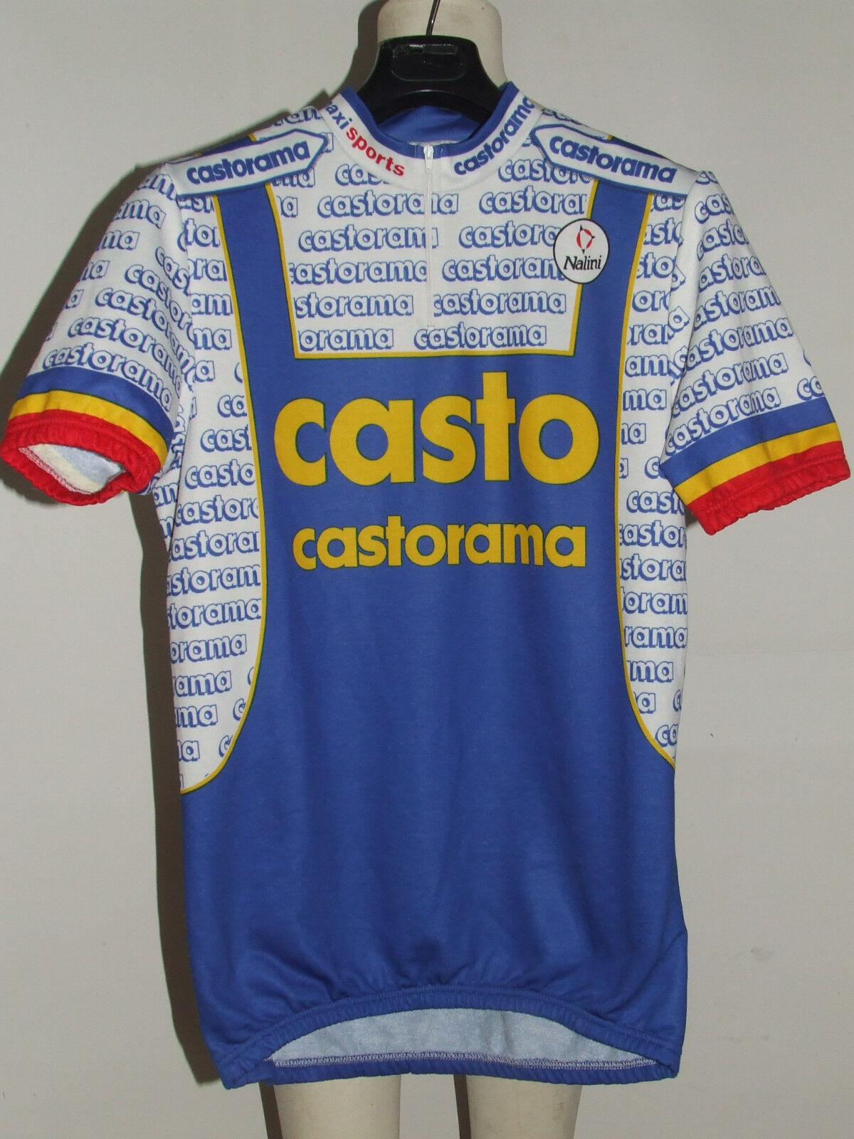 MAGLIA BICI CICLISMO  SHIRT MAILLOT CYCLISM TEAM CASTO CASTORAMA NALINI tg. XXL  factory direct and quick delivery