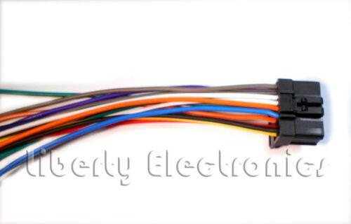 DEH-P4500 NEW 16 Pin WIRING HARNESS PLUG for PIONEER DEH-P450