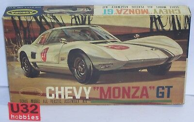 Fn Aurora 506-49 N Gauge Building Kit 1/32 Chevy Monza Gt Relieving Heat And Thirst. Model Building