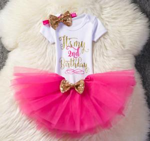 Newborn Kids Baby Girls Christmas Tutu  Dress Legging Outfits Clothes Set ZG8