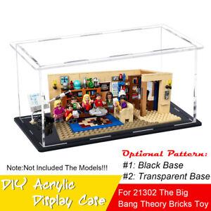 DIY Acryl Vitrine Display Case Für LEGO 21302 The Big Bang Theory Dicke: 3 mm ✌