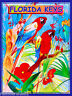 Florida Keys Key West Macaw Birds United States Travel Art Advertisement Poster
