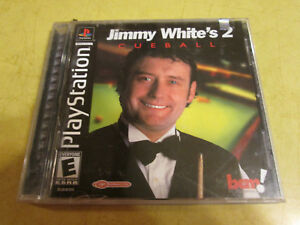 NEW PLAYSTATION GAME   JIMMY WHITE'S CUEBALL 2   read description before buying