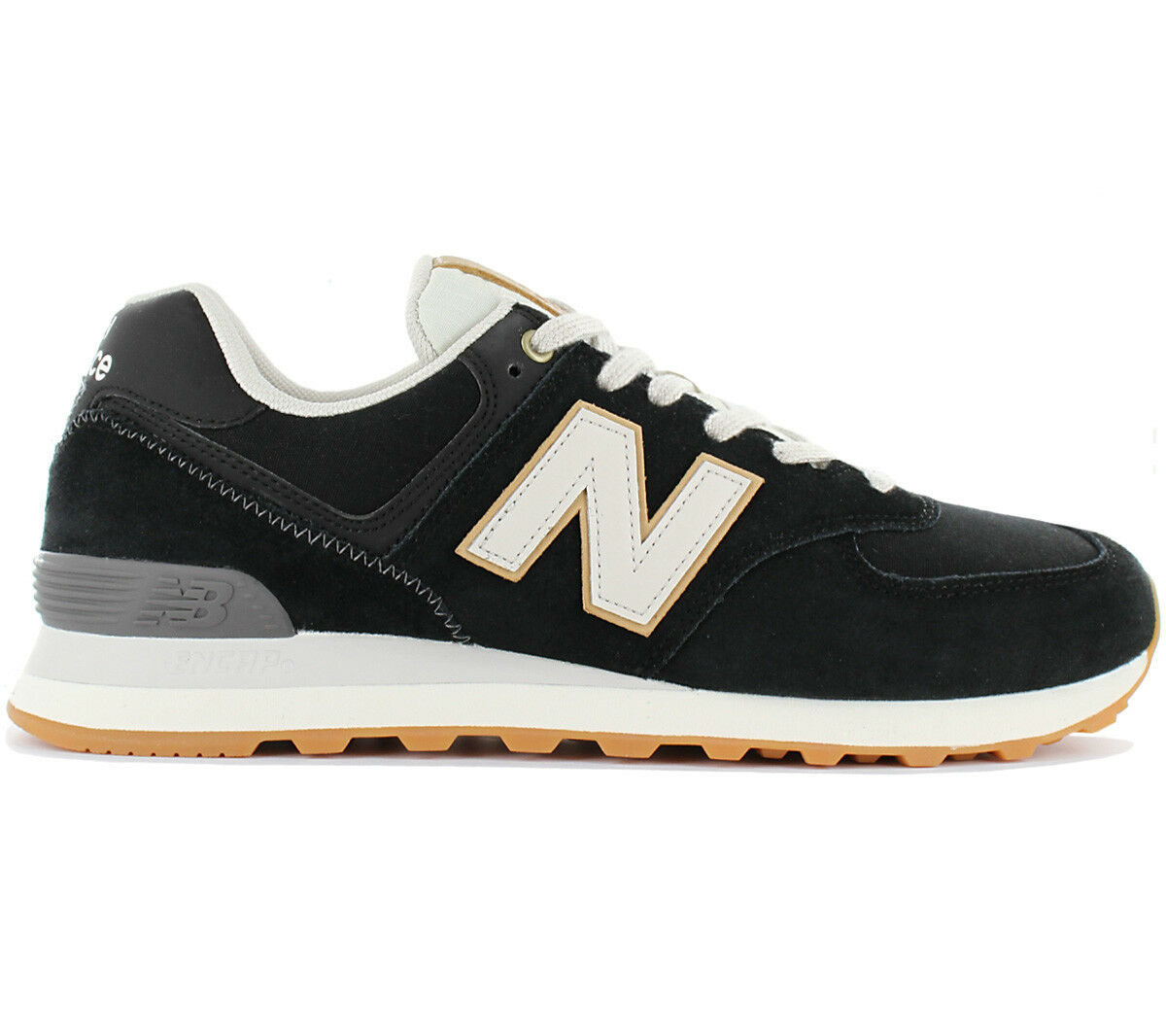 New Balance Classics 574 Herren Sneaker Schuhe Schwarz ML574OUA Turnschuhe NEU