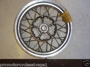 Triumph Thunderbird 1993 2003 Wheel Akront Spain Rear Used Motorcycle Parts Ebay