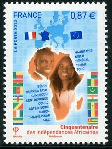 STAMP-TIMBRE-DE-FRANCE-N-4496-INDEPENDENCES-AFRICAINES