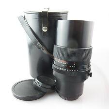 Für Pentacon 6 Carl Zeiss Sonnar red MC 4/300 Objektiv / lens mit case