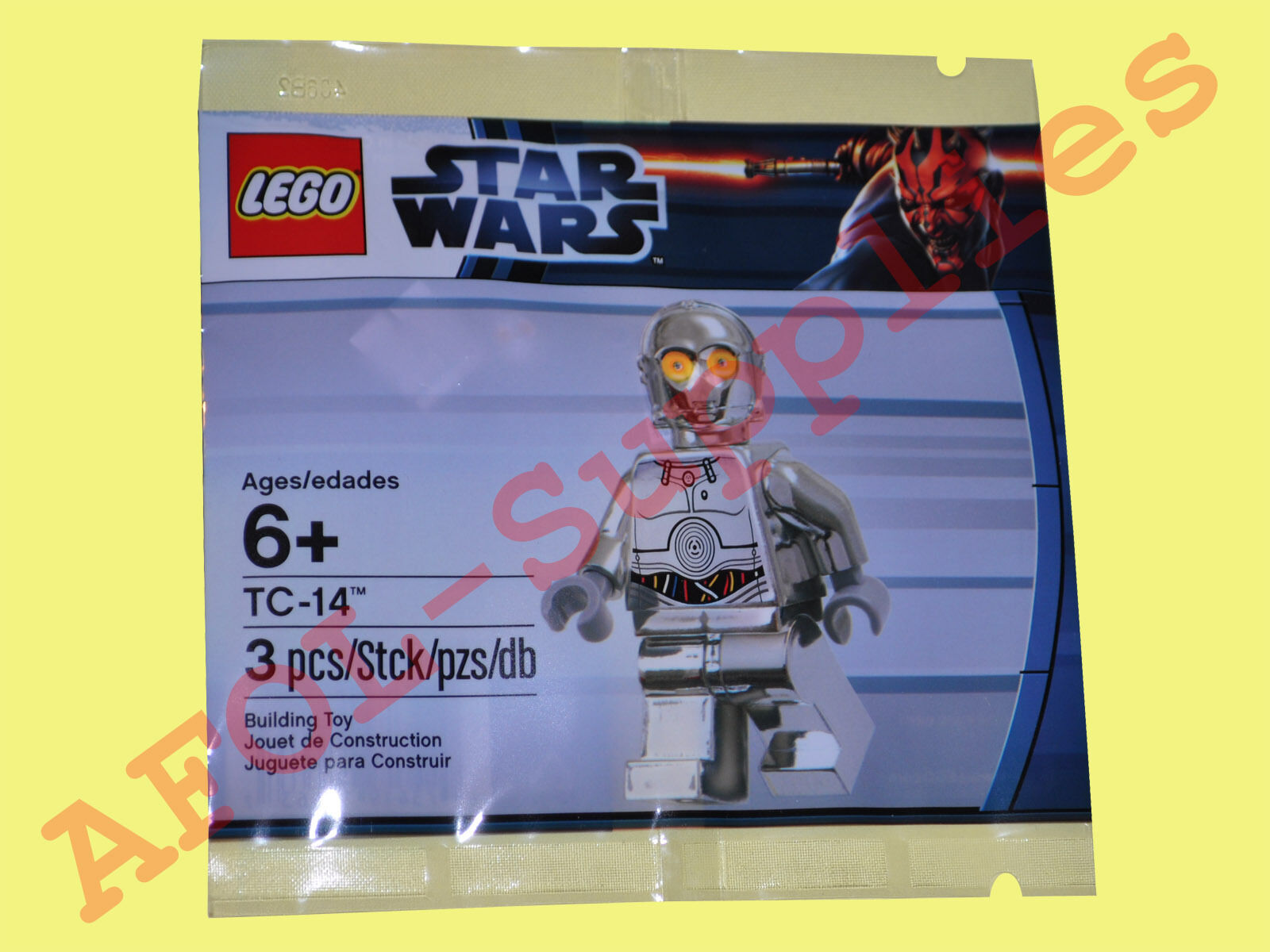 LEGO 6005192 star wars tc-14 Droid Droid Droid Chrome Limited Edition personnage polybag 1b1e87