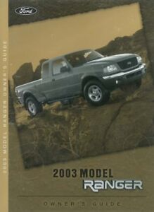 ford ranger owners manual user guide reference