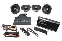 Rockford Fosgate R1-hd4-9813 4-channel Harley Motorcycle Amplifier 4x Speakers