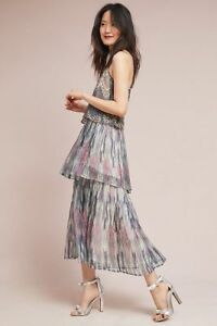 688e73b79624b Image is loading Anthropologie-JOSIE-TIERED-MAXI-DRESS-size-14-new-