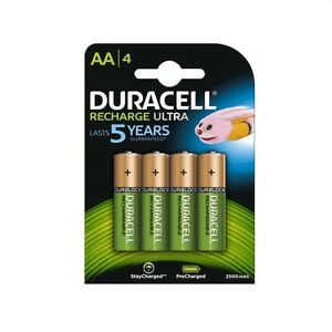 DURACELL-Batterie-recharge-ultra-stilo-AA-4-pz-ricaricabili-2500mAh-1-2V