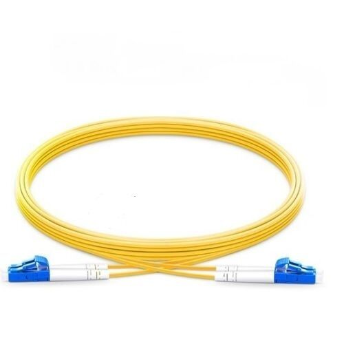 3-pack 1M LC-LC Duplex 9//125 Singlemode Fiber Optic Patch Cable Cord Yellow New