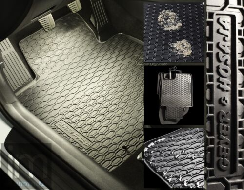 4 X CLIP SVENDITA g879 IN GOMMA-TAPPETINI 4 pezzi per VW Tiguan II dal 2016