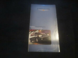 2009 Chrysler Town /& Country Owners Manual User Guide Reference Operator Book