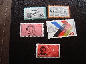 Germany-Rfa-Stamp-Yvert-Tellier-N-596-597-602-603-608-N-MNH-COL7