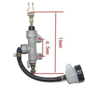 Maitre-cylindre-de-frein-arriere-avec-Bocal-moto-adaptable-NEUF