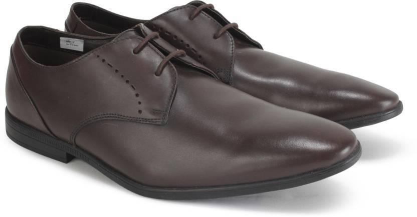 Clarks Hombre Zapatos Con Cordones Estilo Formal Bampton Gorra Ropa, Calzado Y Complementos